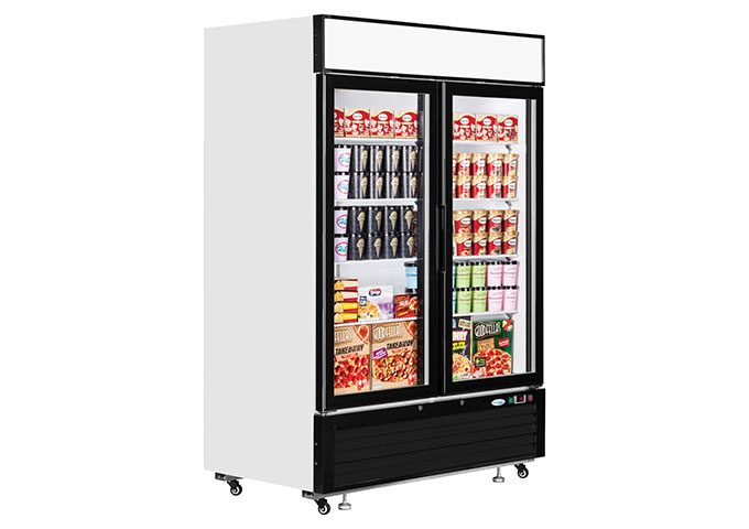 Product: Double Upright Freezer