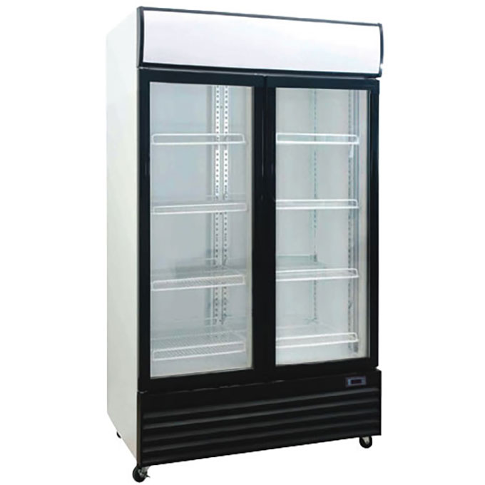 Product: Double Upright Glass Chiller