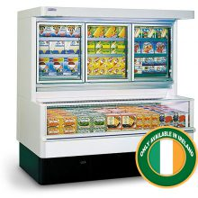 wall site combi freezer