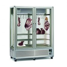 An outstanding upright chiller, the design of the Dry Age Meat Display aims to provide a first-class showcase for your meat products