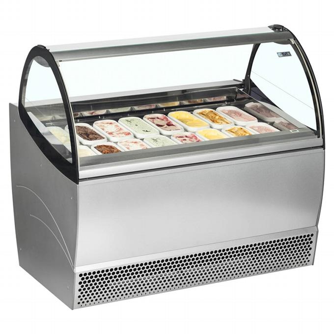 Ice Cream Displays: ISA Millennium Soft Scoop Display - 1