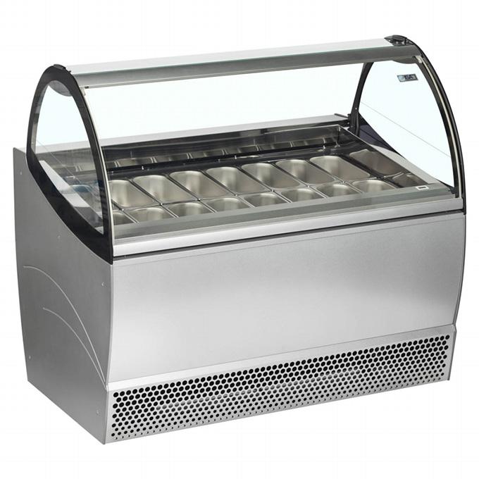 Ice Cream Displays: ISA Millennium Soft Scoop Display - 2