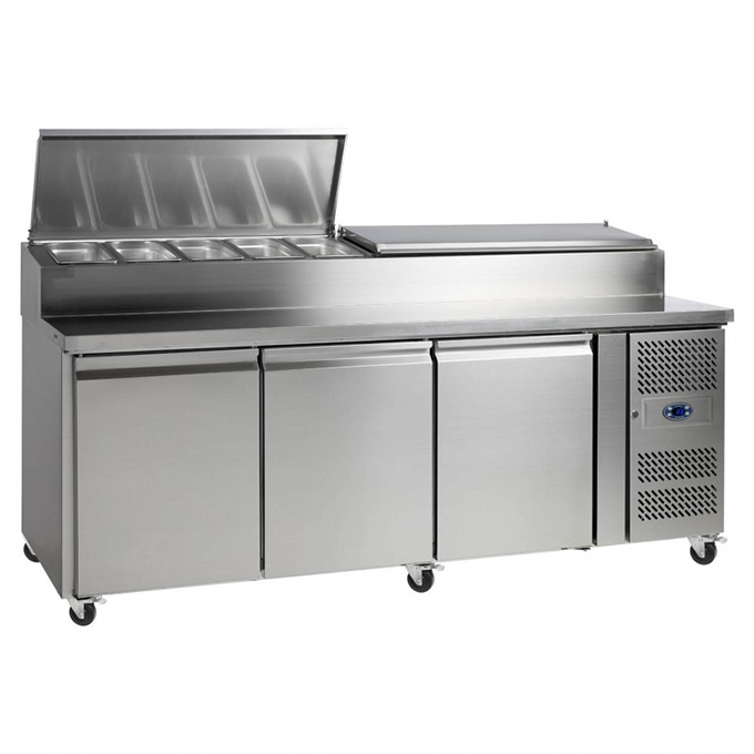 Catering Refrigeration: Tefcold SS7300 Sandwich Prep Counter