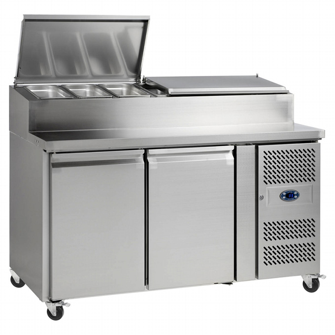 Catering Refrigeration: Tefcold SS7200 Sandwich Prep Counter
