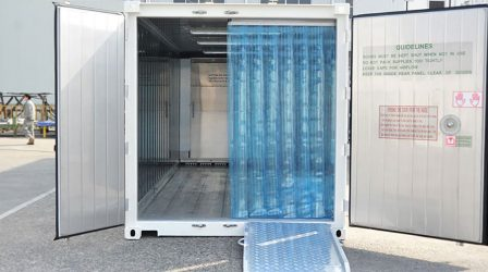 Hire-Innovation is proud to unveil its new cold storage rental options, with a fantastic range of temperature-controlled container units now available for short or long-term hire