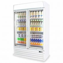 The Pavo Eco Cool Glass Door Chiller is a robust merchandiser that comes with all the features needed to drive your retail sales to the next level.