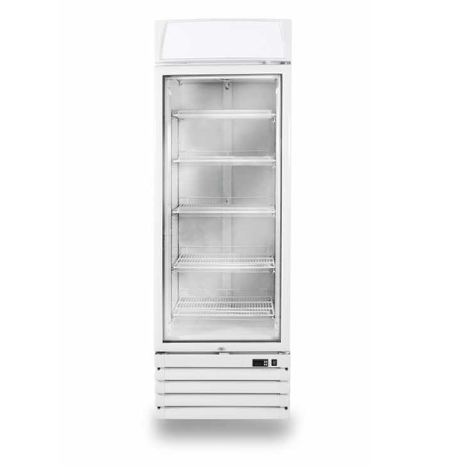 Display Freezers: Pegasus Upright Glass Freezer 1