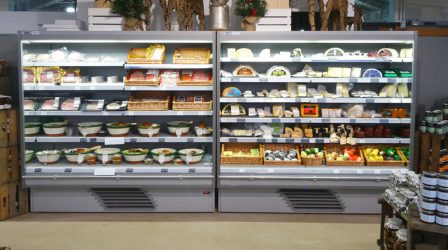 Multi deck display fridges