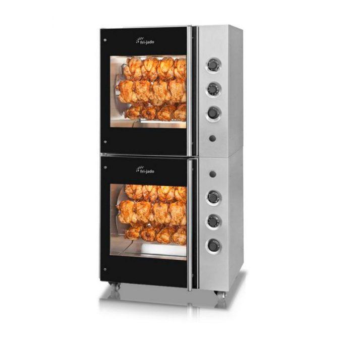 Fri-Jado Manual Oven TDR5 stacked