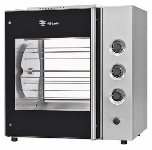 fri jado manual oven empty