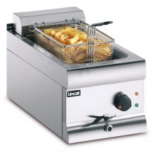 Lincat DF36 single tank countertop electric fryer propped