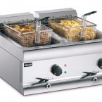 Image: DF612 twin tank countertop fryer_propped
