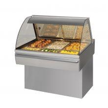 Fri Jado Curved Glass Hot Deli Counter