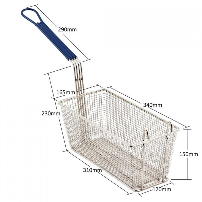 pitco_fryer_basket_dimensions