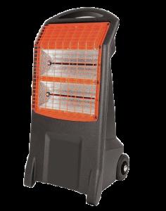 infrared radiant spot heater - warm glow