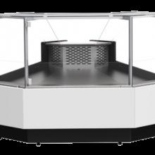 Corner Serve Over Display Counter