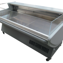 low glass serve over chiller